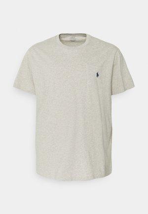 CLASSIC - Jednoduché triko - new grey heather