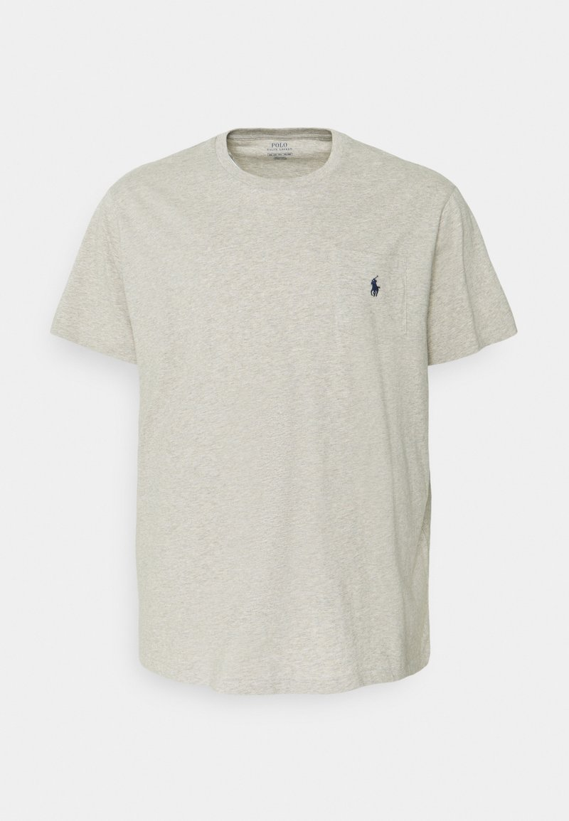 Polo Ralph Lauren Big & Tall - CLASSIC - Basic T-shirt - new grey heather