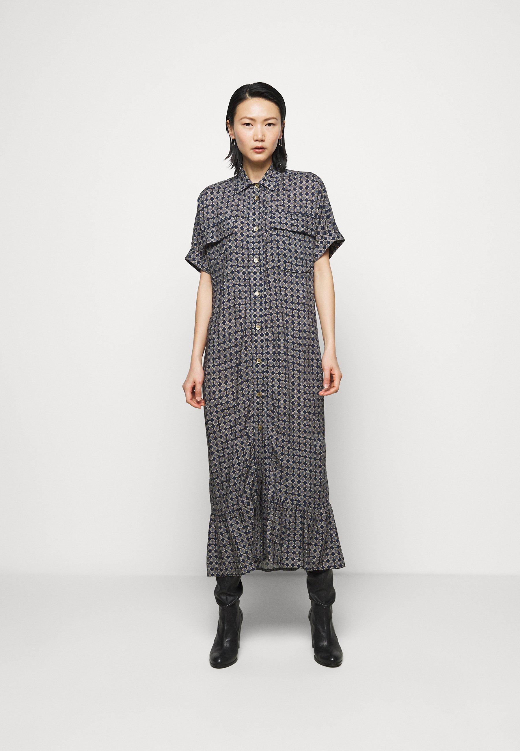 Women LIGHT MAXI DRESS - Shirt dress