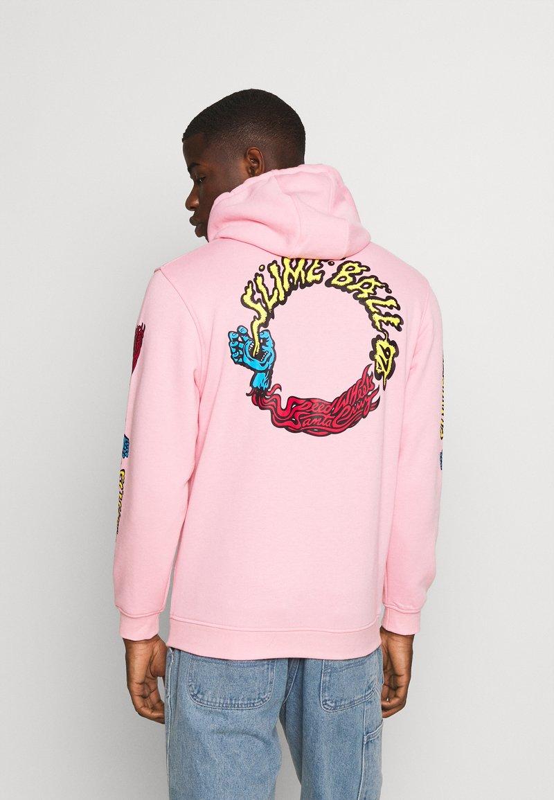 Santa Cruz - VOMIT HOOD UNISEX - Hoodie - pink