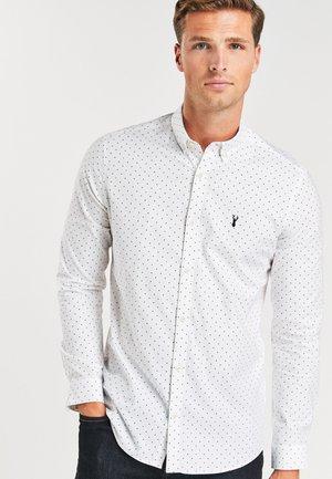 STRETCH OXFORD - Shirt - white