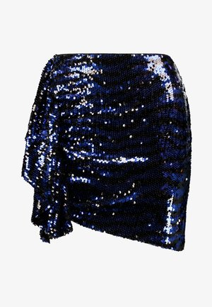 GOING OUT SKIRT - Mini skirt - blue
