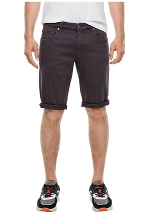 BERMUDA - Denim shorts - dark grey