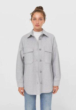 OVERSIZE - Light jacket - grey