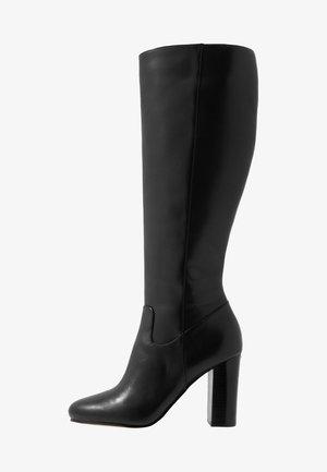 LOTTIE BOOT - Kozačky na vysokém podpatku - black