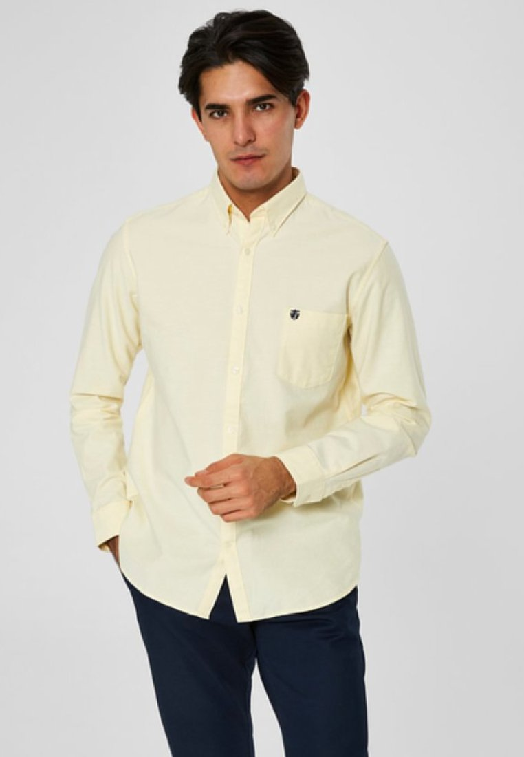 Selected Homme - NOOS - Shirt - mellow yellow