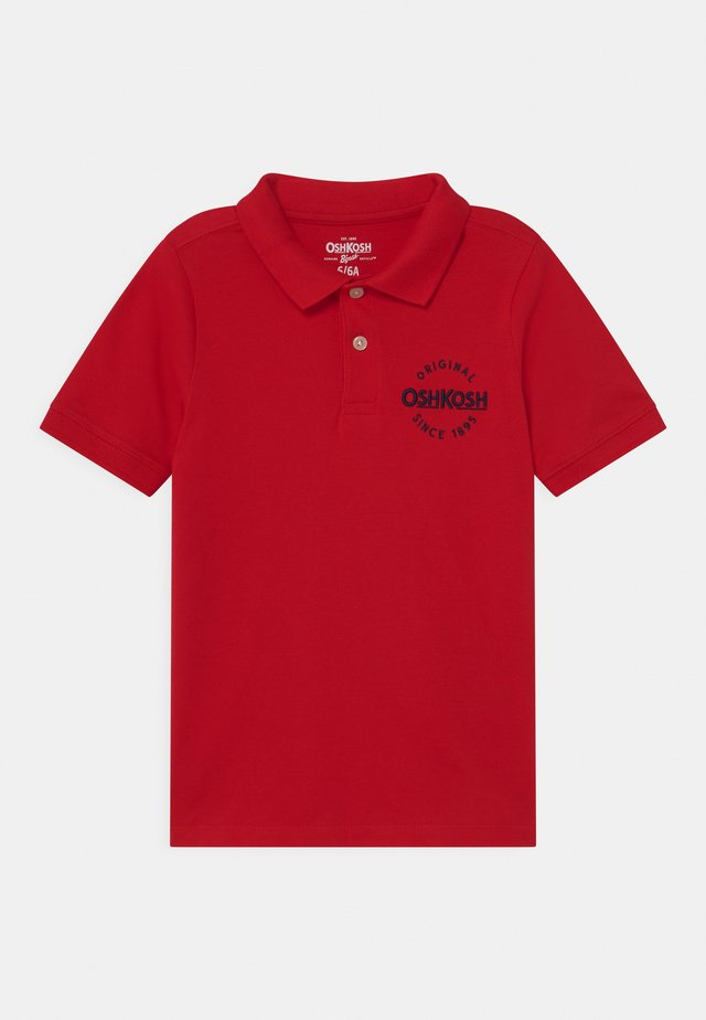 BASIC - Poloskjorter - red