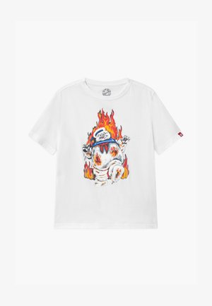GHOSTBUSTERS X ELEMENT INFERNO BOY - Print T-shirt - optic white