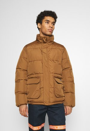 OLATON JACKET - Winter jacket - brown duck
