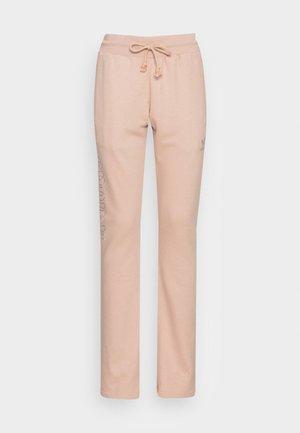 OPEN HEM  - Pantalones deportivos - beige