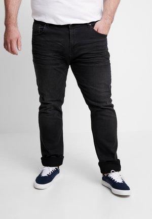 SHIELD PLUS - Slim fit -farkut - black