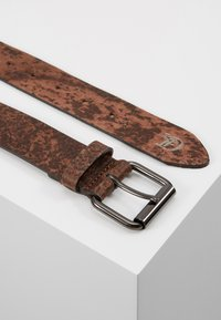 TOM TAILOR DENIM - Belt - dark brown - 2