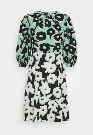 PUFF SLEEVE DRESS - Kjole - green