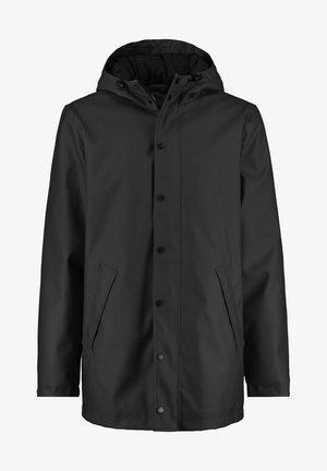 Waterproof jacket - washed black