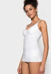 Skiny - DAMEN SPAGHETTI - Undershirt - white - 3