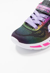 Skechers - LITEBEAMS - Trainers - black/multicolor - 5