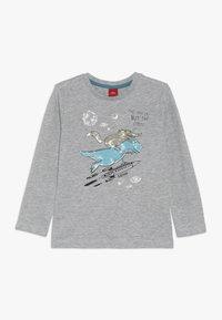 s.Oliver - Long sleeved top - grey melange - 0