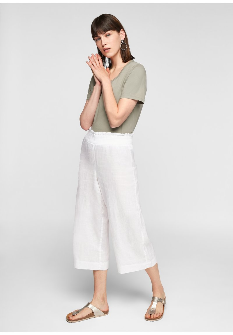 s.Oliver - Trousers - white