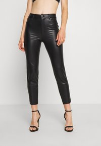 ONLY - ONLEMILY PANT - Trousers - black - 0