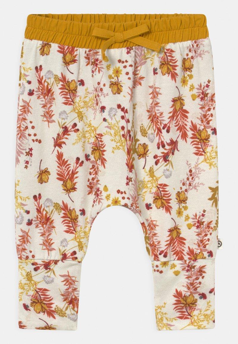 Müsli by GREEN COTTON - CALENDULA VOLUME BABY - Trousers - cream
