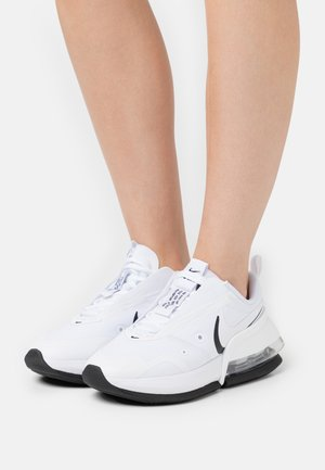 AIR MAX UP - Sneakers - white/metallic silver/black
