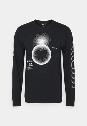 GROUND CONTROL TEE - Long sleeved top - black