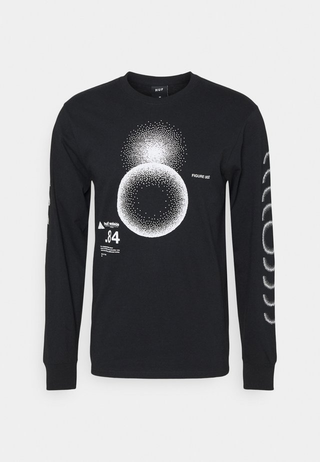 GROUND CONTROL TEE - Långärmad tröja - black