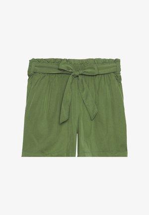 Shorts - dull moss green