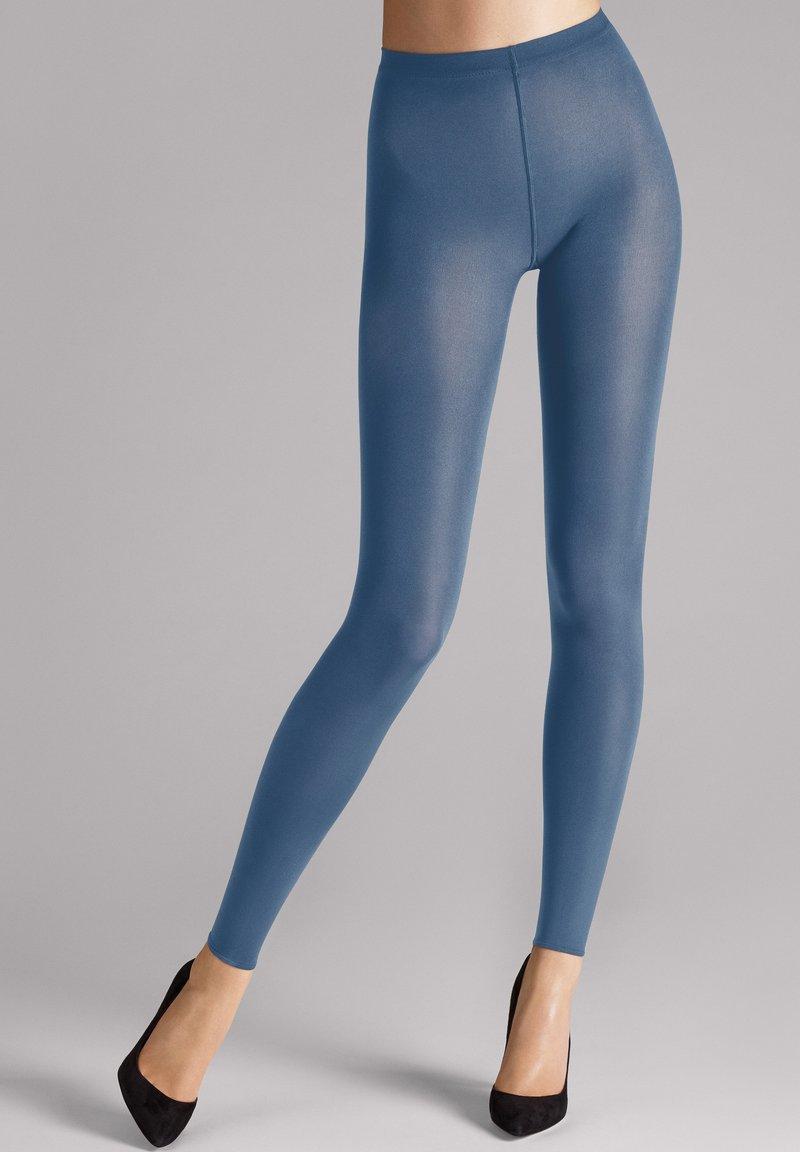 Wolford - VELVET - Leggings - Trousers - denim