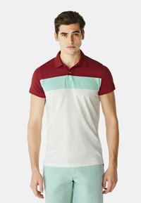 McGregor - Polo shirt - white mint red - 2