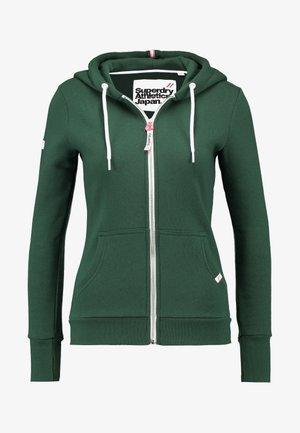 ATHLETIC ZIPHOOD - Zip-up hoodie - spruce