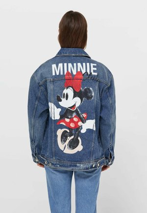 MINNIE  - Denim jacket - blue denim