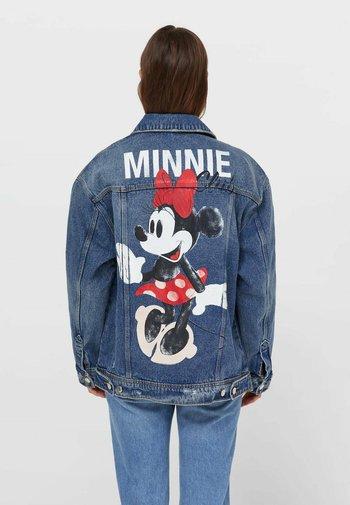 MINNIE  - Denim jacket - blue denim