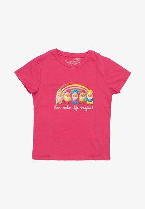 GNOMES  - T-shirt print - fucsia