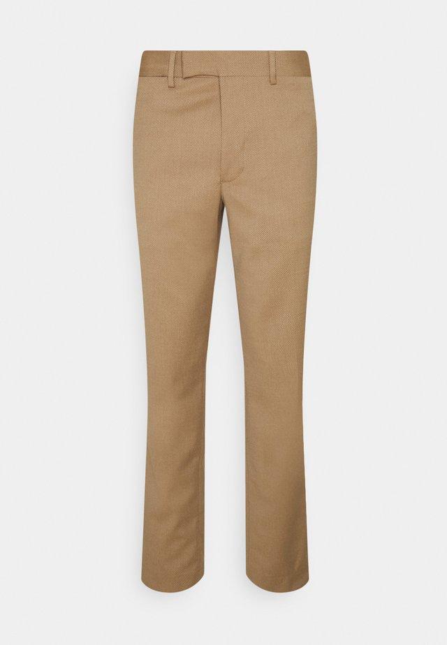 GRANT MICRO STRUCTURE PANTS - Pantaloni - night dunes