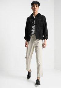 Brave Soul - WILBUR - Denim jacket - black denim - 1