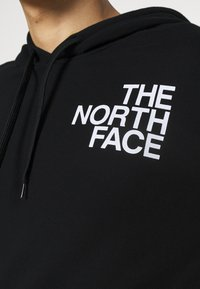 The North Face - OVERSIZE LOGO HOODIE - Mikina s kapucí - black/white - 4