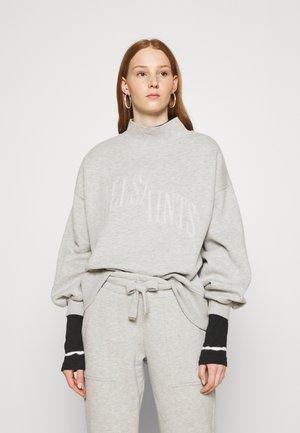 NEVARRA SPLITSAINTS  - Sweatshirt - grey marl