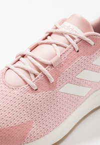 adidas Performance - SOORAJ - Neutral running shoes - pink spice/clear white/tagome - 5