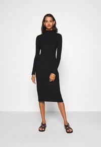 EDITED - HADA DRESS - Jumper dress - black - 0
