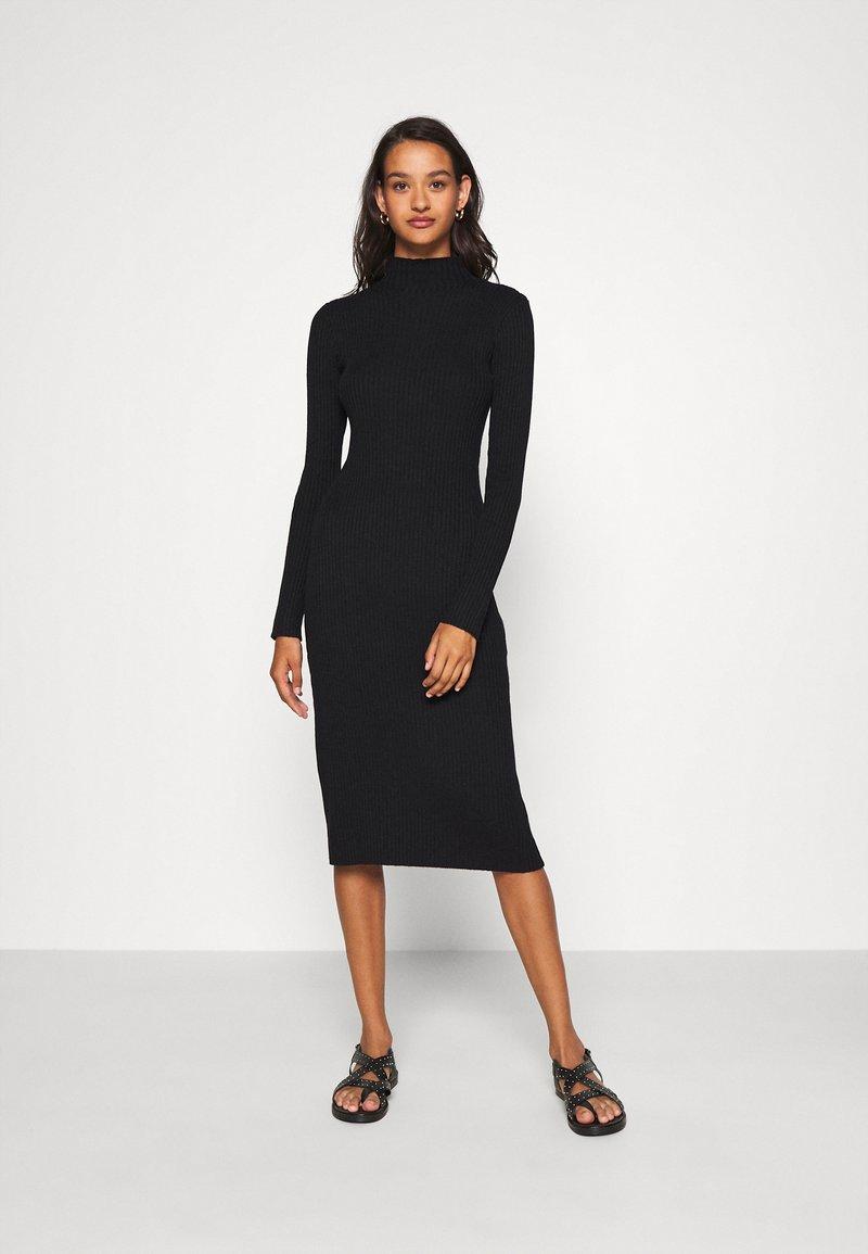 EDITED - HADA DRESS - Jumper dress - black