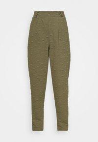 ONLY - ONLKIMBERLY JOYCE PANT - Trousers - kalamata - 3