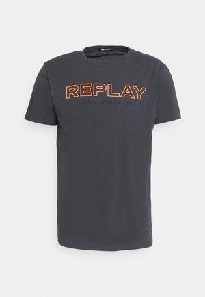 T-shirt med print - smoke grey