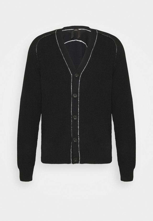 KNITWEAR - Cardigan - black
