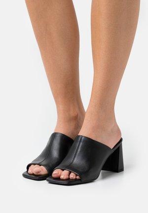 LIZO - Heeled mules - black