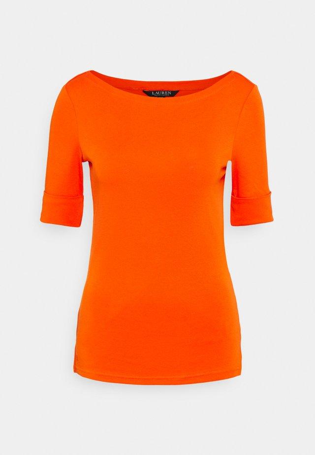 T-shirts basic - dusk orange