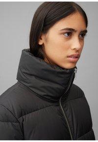 Marc O'Polo DENIM - LONG PUFFER COAT - Winter jacket - black - 3