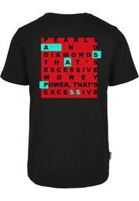 Cayler & Sons - WL EXCESSIVE LIFE - Print T-shirt - black/mc - 1