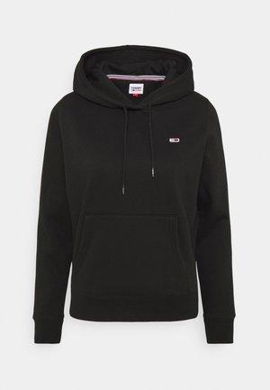 REGULAR HOODIE - Bluza z kapturem - black