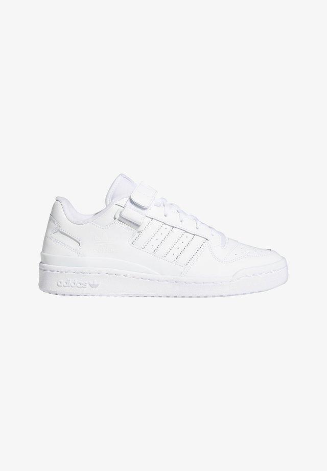 FORUM LOW UNISEX - Sneakers laag - white